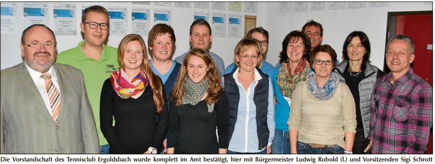 Vorstandschaft tc ergoldsbach - Wintergarten bliemel ...