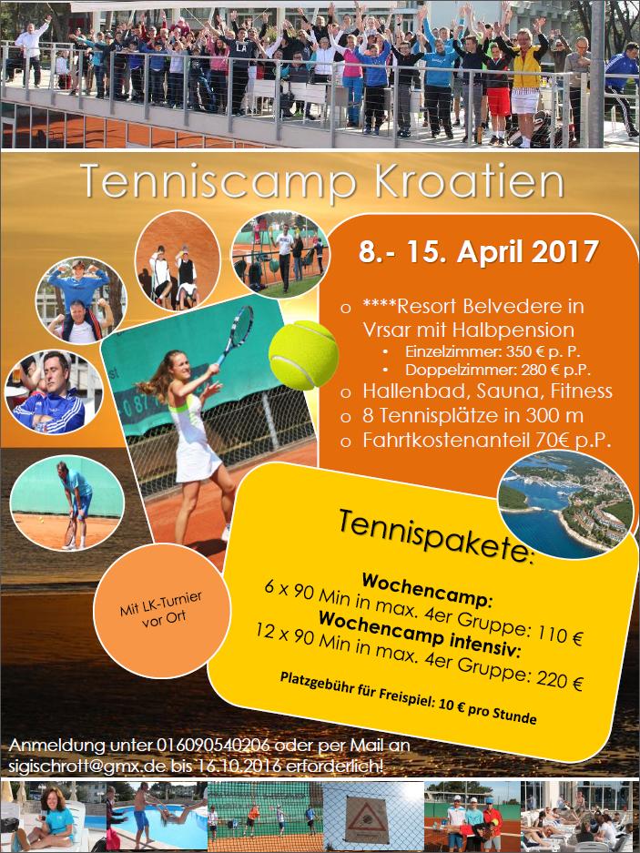 Tenniscamp 2017_