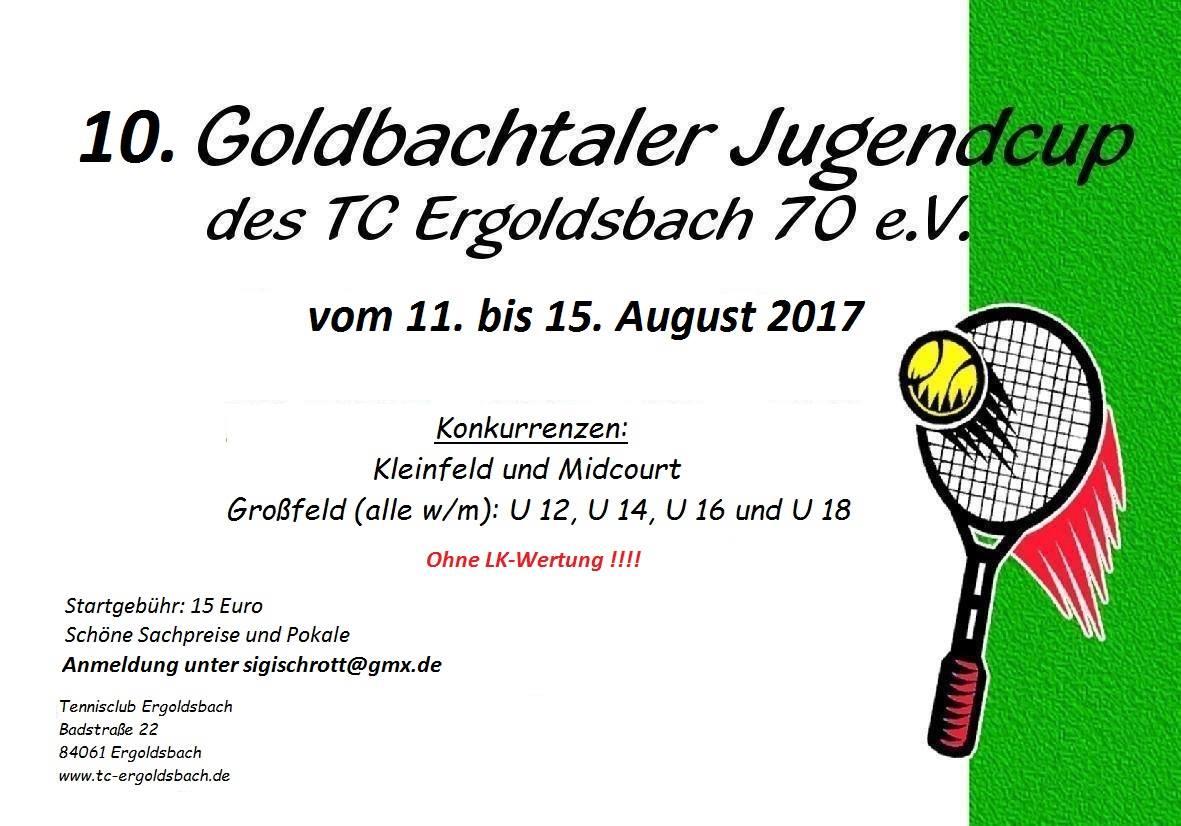 Goldbachtaler Jugendcup 2017